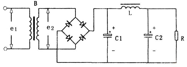 整流、滤波电子电路工作原理图 要看懂一张比较复杂的电子电路图,首先要了解电路中元件的性能,同时要掌握一些常用的单元电路,做到熟记于心。这样识读电子电路图时就可以做到快速、准确地理解电路图的原理,为实际操作创造理论条件。 本文将分类介绍电子电路中的常用单元电路,使初学者认识、了解这些单元电路的组成及基本功能,同时将简单介绍一些器件的性能、特点,以帮助初学者更好地理解电路的工作原理。 一、直流电源电路 任何一个电子电路都离不开电源,而电子电路中使用的一般都是直流电源。直流电源的获得,一种是使用干电池或蓄电池供